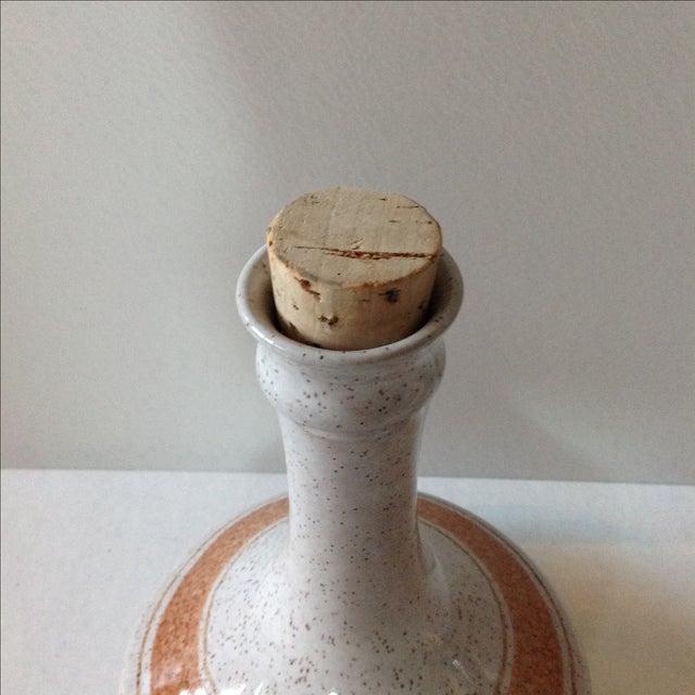 Vintage Pottery Decanter Bottle - Image 5 of 7