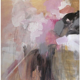 """""""Incarnate"""" Large Contemporary Abstract Painting by Buffy Rinehart Walters For Sale"""