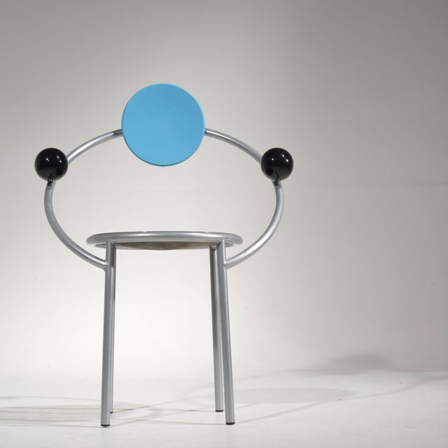 Michele De Lucchi First Chair for Memphis, Milano For Sale - Image 9 of 13
