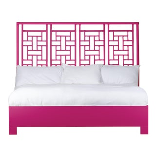 Ohana Bed King - Bright Pink For Sale