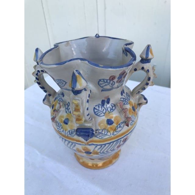 Montalvan Ceramic Vases - a Pair For Sale - Image 11 of 13