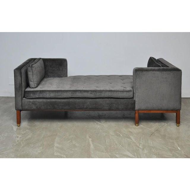 Dunbar Tete-a-tete Sofa by Edward Wormley - Image 2 of 7