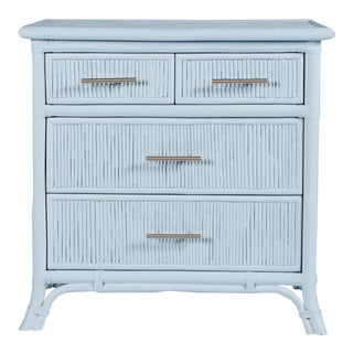 Aruba Four-Drawer Chest - Blue For Sale