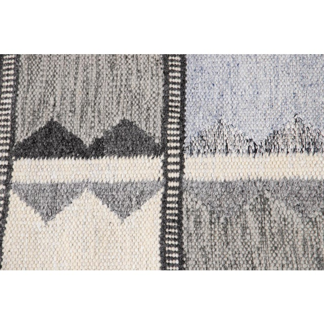 21st Century Contemporary Swedish Style Runner Rug, 3' X 12' For Sale In New York - Image 6 of 11