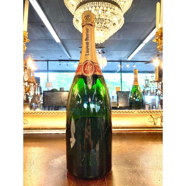 Late 20th Century French Laurent-Perrier Champagne Specimen Bottle For Sale - Image 4 of 5