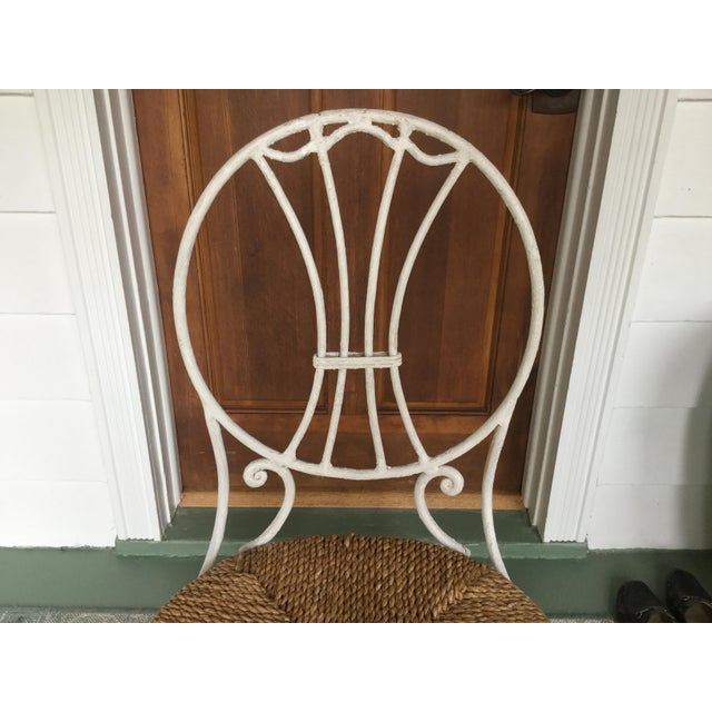 1950s French Country Wrought Iron Dining Set - 5 Pieces For Sale In New York - Image 6 of 10