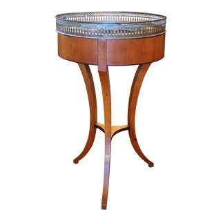 Empire Style Jardiniere With Pierced Gallery For Sale