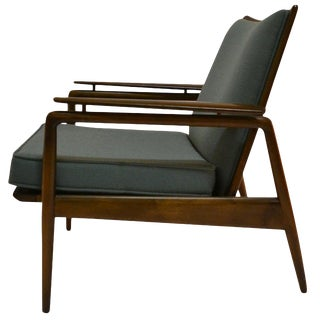 Danish Modern Lounge Chair by Selig For Sale