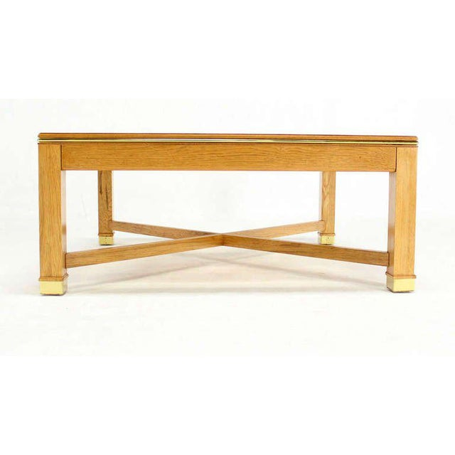 Sophisticated Contemporary BirdsEye Maple With A Square Glass Top - Maple and glass coffee table