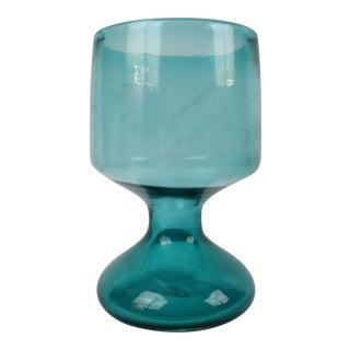 Blenko Husted Goblet Vase For Sale