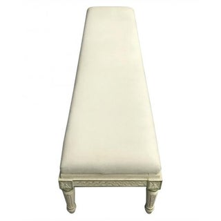 Vintage Mid Century French Style Long Bench Preview