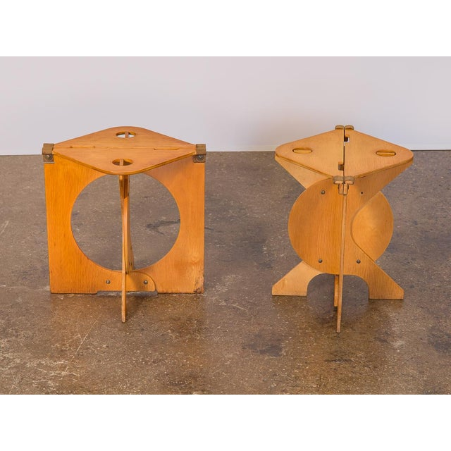 The Rooster Folding Stool designed by Design/Build architect Barry Simpson. A brilliant, quirky stool design that's both...