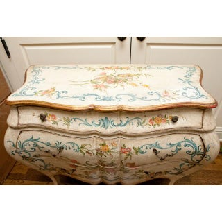 1990s French Shabby Chic Hand Painted Commode Preview