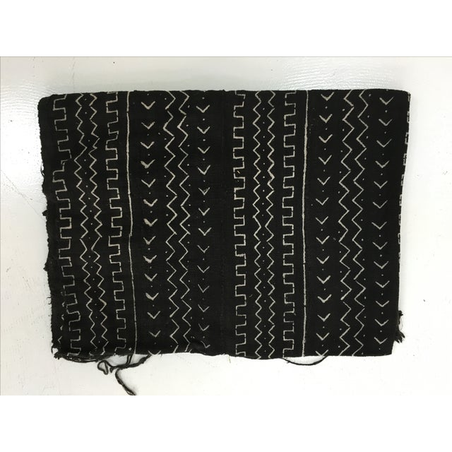 Authentic African Mud Cloth Fabric - Image 2 of 3