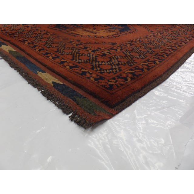 "Leon Banilivi Elephant Foot Carpet - 8'2"" X 11' - Image 5 of 5"