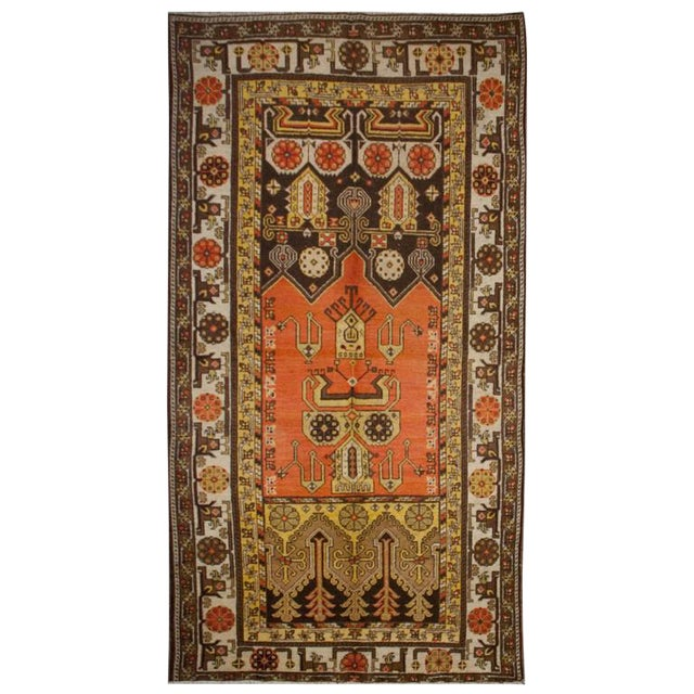 """Early 20th Century Khotan Rug - 60"""" x 102"""" For Sale"""