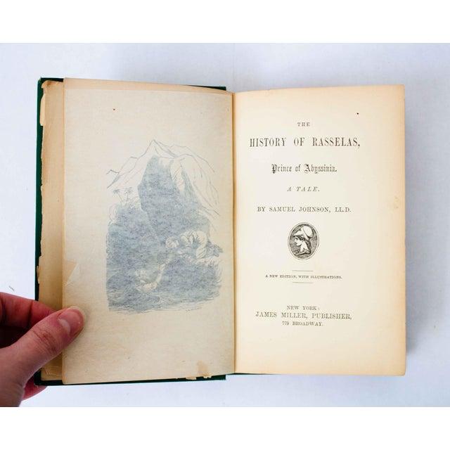 """Antique Book, """"Rasselas"""" For Sale In Dallas - Image 6 of 9"""