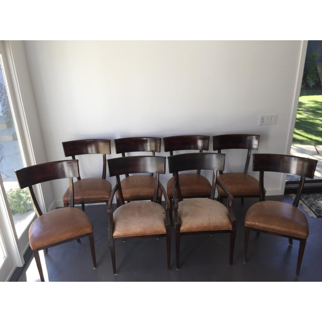 Baker Milling Road Empire Chairs - Set of 8 - Image 2 of 6