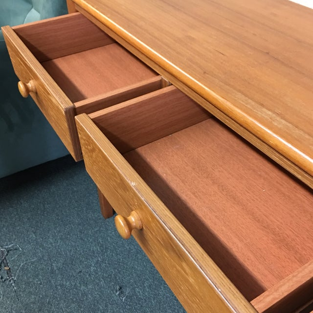 Teak Console Table - Image 6 of 7