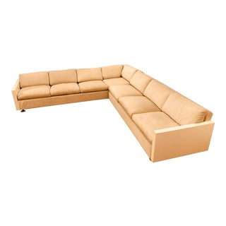 1972 Milo Baughman for Thayer Coggin Sectional Couch For Sale