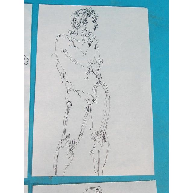 Male Nude Studies - Set of 4 - Image 5 of 6