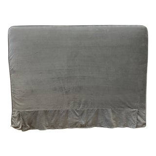 Queen Size Rachel Ashwell Slipcover Square Headbaord For Sale