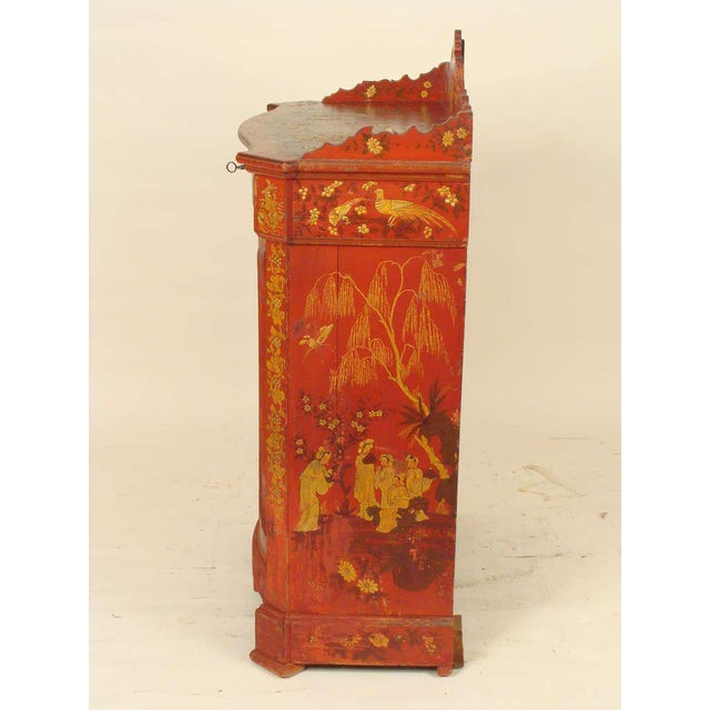 Chinoiserie Decorated Cabinet - Image 5 of 10