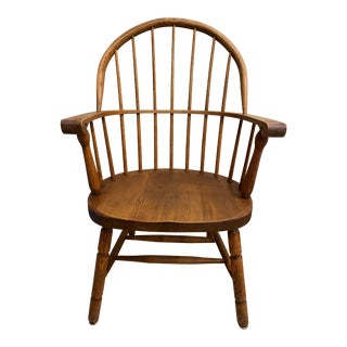 1950s Vintage Nichols and Stone Windsor Armchair For Sale