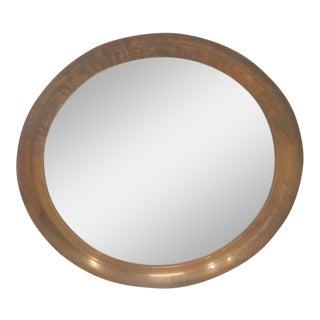 Mid-Century Modern Copper Hanging Mirror