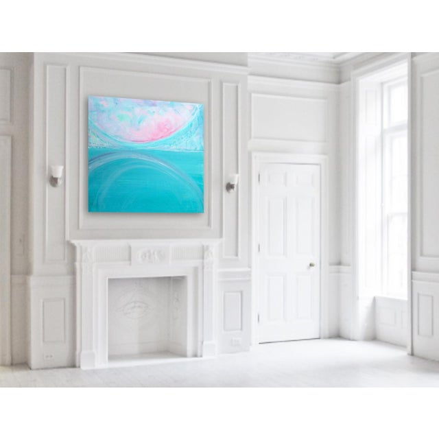 'AFTERLiFE' Original Abstract Painting by Linnea Heide - Image 5 of 5