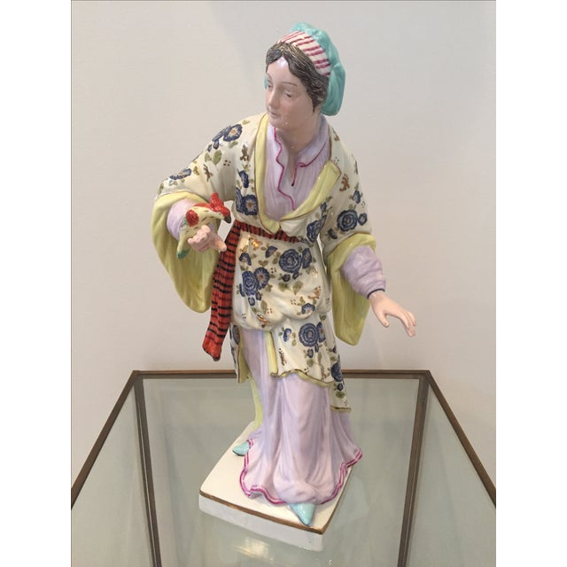 Chinoiserie Figurines by Chelsea House - Pair - Image 7 of 10