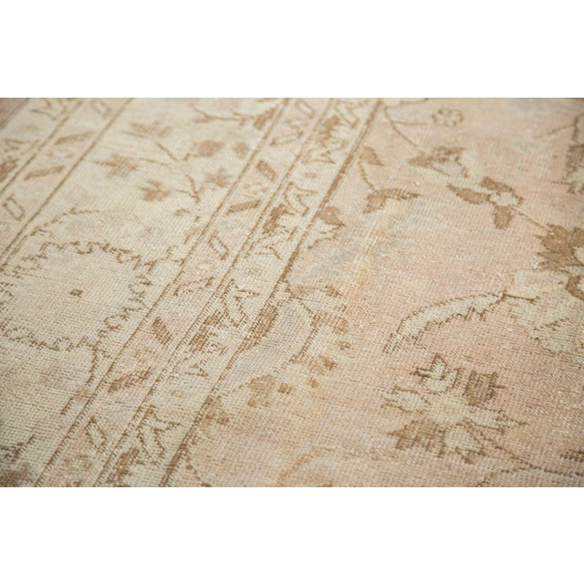 "Vintage Distressed Oushak Carpet - 7'2"" x 12'1"" For Sale - Image 5 of 10"