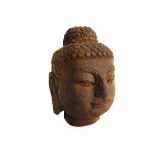 Carved Stone Gautama Buddha Head Preview