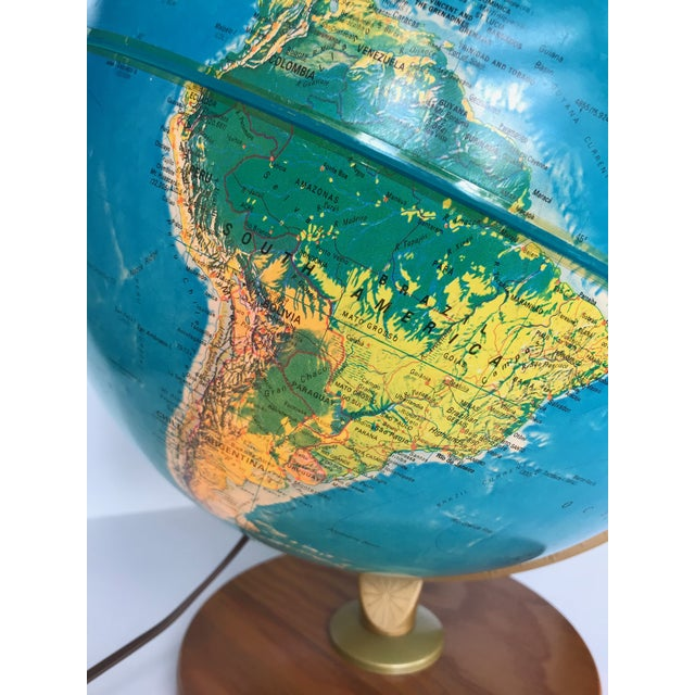 Vintage Late 20th Century Globe Light For Sale - Image 4 of 10