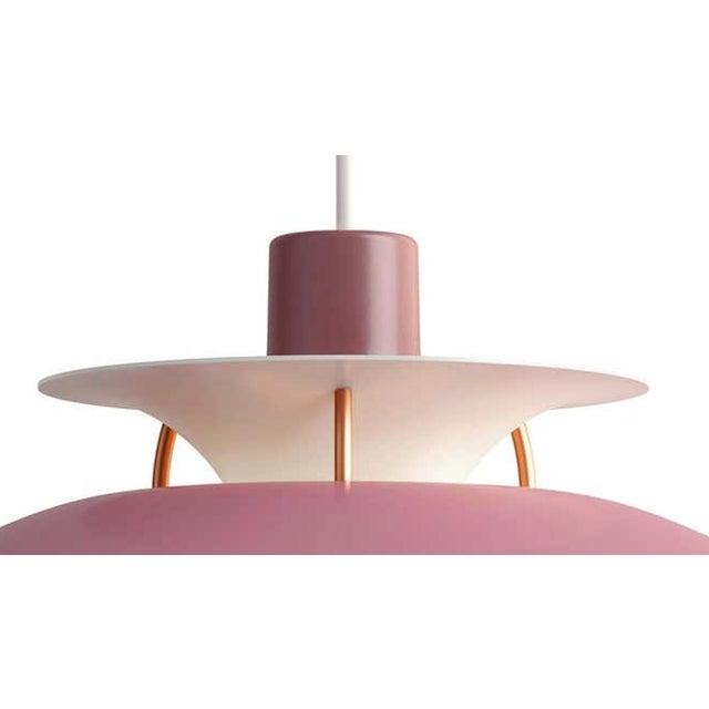 Poul Henningsen rose PH5 mini pendants for Louis Poulsen. Poul Henningsen originally introduced the full-sized PH 5...