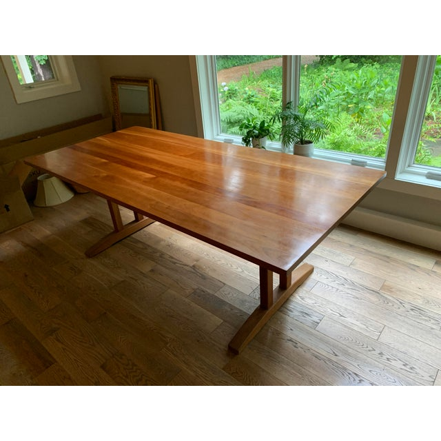 Incredible 1990S Danish Modern Stickley Solid Cherry Dining Table Lamtechconsult Wood Chair Design Ideas Lamtechconsultcom