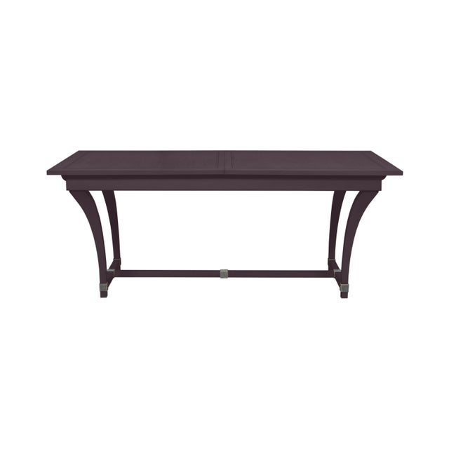 Traditional Casa Cosima Living Rhodes Dining Table - Dark Basalt For Sale - Image 3 of 3