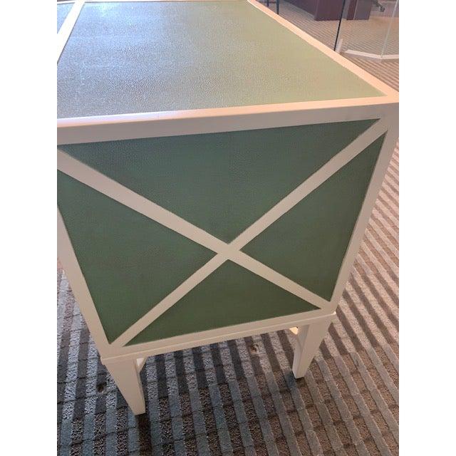 Abstract Transitional Lexington Home Sligh Partner Desk For Sale - Image 3 of 13