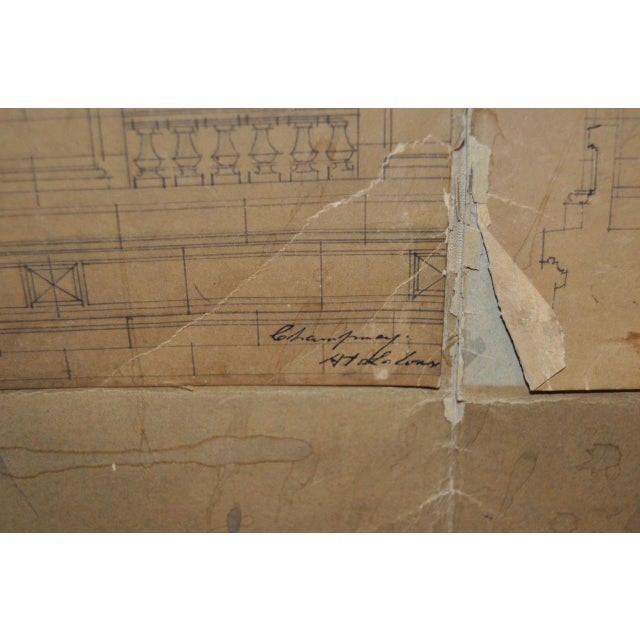 18th/19th Century Master Architectural Drawings For Sale - Image 11 of 11