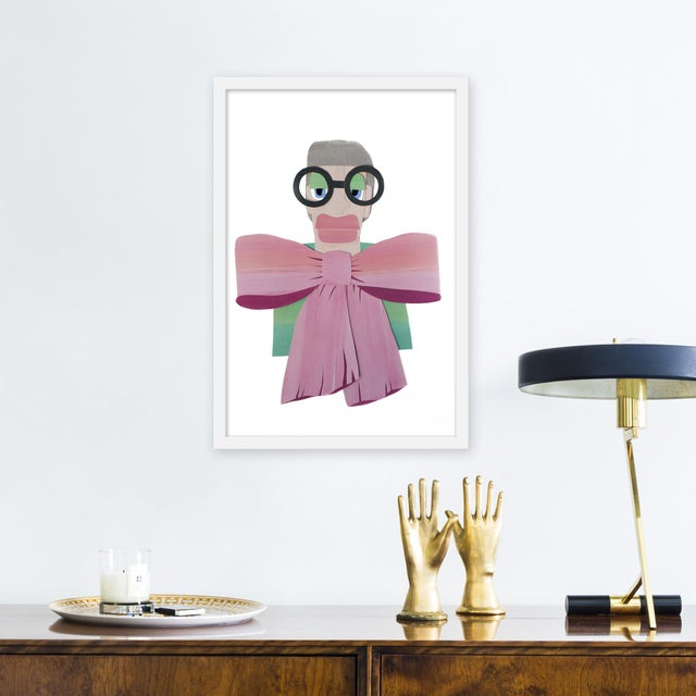 Giclée on textured fine art paper with white frame. Unframed print dimensions: 15.75 x 23.75. Please allow 5-7 business...