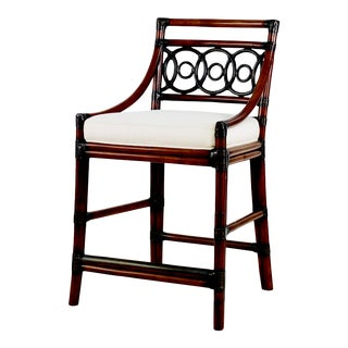 Century Furniture Circles Counter Stool-Flax (Cg-030-402-07) For Sale