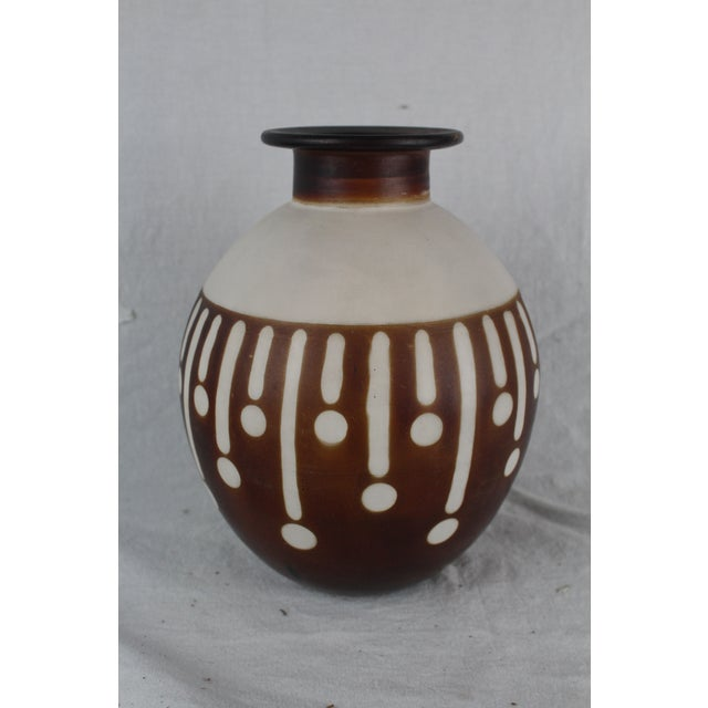 Ceramic Santodio Mid-Century Modern Pottery Vase For Sale - Image 7 of 8