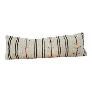 Vintage Woven Kilim Pillow Cover For Sale