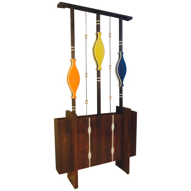 b3a41cd6c4f0 Mid Century Modern Art Screen Room Divider Plant For Sale