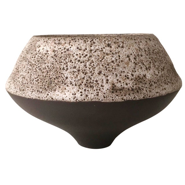 Glazed Stoneware Planter - Image 1 of 6
