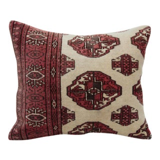 Turkoman Rug Pillow For Sale