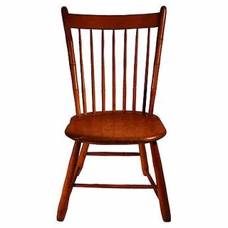 Antique Spindle-Back Barn Chair