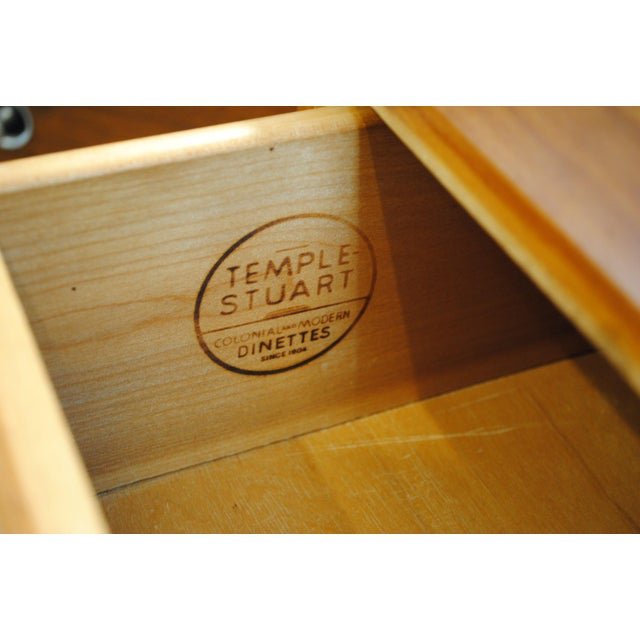 Mid-Century Modern Mid Century Modern Temple Stuart Credenza/Hutch-1950's For Sale - Image 3 of 12
