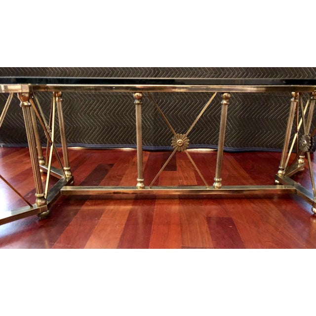 Empire Maison Jansen Style Coffee Table For Sale - Image 3 of 8