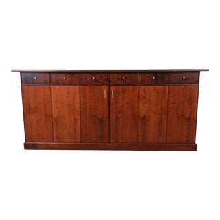 Milo Baughman for Directional Monumental His and Hers Dresser, 1960s For Sale